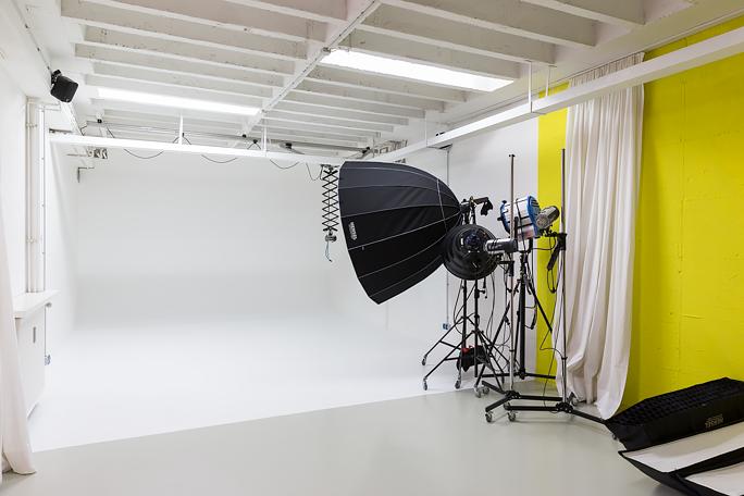 Fotostudio München - heller Raum